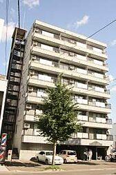 北海道札幌市中央区南六条西7丁目の賃貸マンションの外観