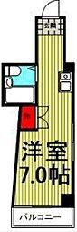 ドゥエルカネヒラ[2階]の間取り