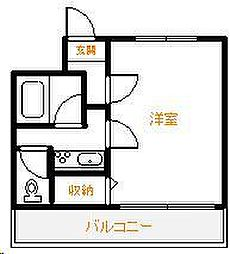 Amico淀川[203号室]の間取り