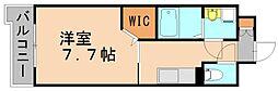 比恵西CoCoマンション[4階]の間取り