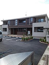 香川県三豊市高瀬町下勝間の賃貸アパートの外観