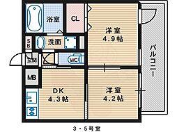 北花田駅 6.5万円