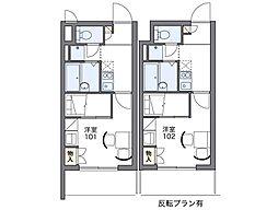 MIMURA[3階]の間取り