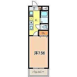 JC SOUTH  SHIKI  2932[2階]の間取り