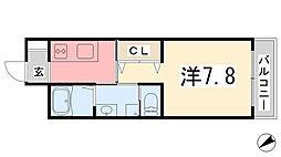 エクシード[305号室]の間取り