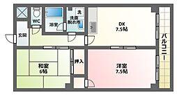 レジデンス・アーバン[4階]の間取り
