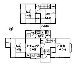 [一戸建] 神奈川県横浜市港南区笹下6丁目 の賃貸【/】の間取り