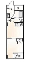 パルムハウス[1409号室]の間取り