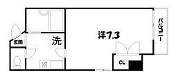 Blanc Neige 四条大宮[5階]の間取り