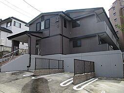 愛知県名古屋市千種区鹿子町4丁目の賃貸アパートの外観