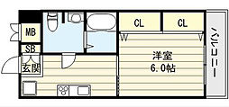 新深江池田マンション[6階]の間取り