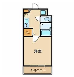 東京都世田谷区給田4丁目の賃貸マンションの間取り