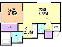 真駒内駅 4.2万円