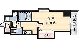 Luxe西田辺[304号室]の間取り
