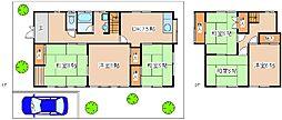 [一戸建] 兵庫県神戸市西区月が丘4丁目 の賃貸【/】の間取り
