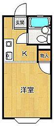 セレーヌ甲子園口[2階]の間取り