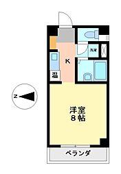 VIVRE SAKOU[4階]の間取り