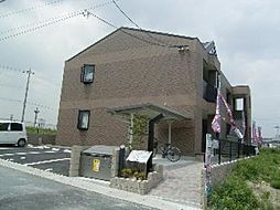 京都府京都市伏見区桃山町大島の賃貸アパートの外観