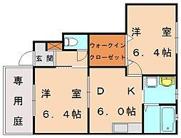福岡県糟屋郡新宮町大字原上の賃貸アパートの間取り