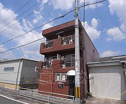 京都府京都市西京区牛ヶ瀬奥ノ防町の賃貸マンションの外観