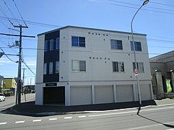 北海道札幌市東区伏古十一条4丁目の賃貸アパートの外観