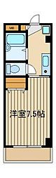 東京都練馬区石神井町3の賃貸マンションの間取り