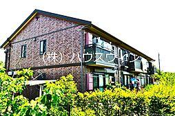 埼玉県越谷市神明町3丁目の賃貸アパートの外観