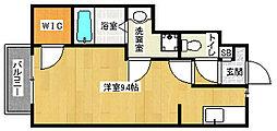 叡山電鉄鞍馬線 岩倉駅 徒歩10分の賃貸アパート 1階1Kの間取り