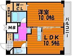 田町ガーデンハイツ[5階]の間取り