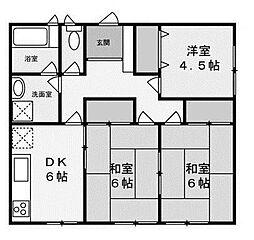 プチアローム[1階]の間取り