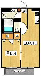 シャーメゾンM・S・A[103号室号室]の間取り