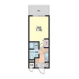 ラクラス新大阪[0602号室]の間取り