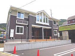 岡山県倉敷市広江6の賃貸アパートの外観