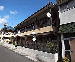 京都府向日市上植野地後の賃貸アパートの外観