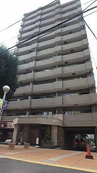 外観(所沢駅から徒歩8分の好アクセスなマンションです。)