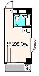 ファーストパレス[4階]の間取り