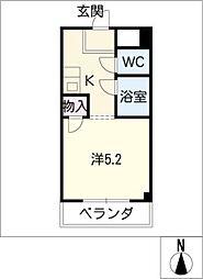 エクセル塩釜II[2階]の間取り