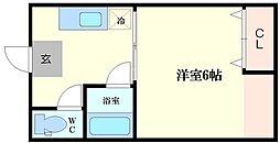 澤井ビル[2階]の間取り