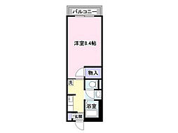 メゾン・ド・ASAHI[203号室号室]の間取り