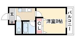 愛知県尾張旭市狩宿町1丁目の賃貸マンションの間取り