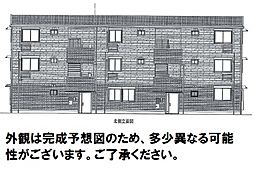 D-room可部3丁目B棟[202号室]の外観