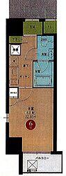 名鉄名古屋本線 名鉄名古屋駅 徒歩10分の賃貸マンション 3階1Kの間取り