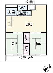 エクセル東和[3階]の間取り
