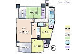3LDK・専有面積74.24平米・バルコニー面積11.33平米
