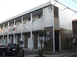 埼玉県川口市芝宮根町の賃貸アパートの外観