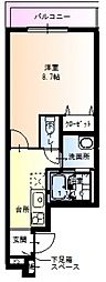 フジパレス新深江VIII番館[103号室号室]の間取り
