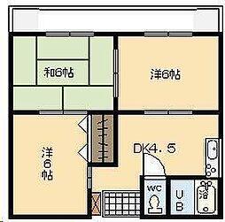 第1小野ビル[205号室]の間取り
