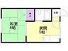 間取り,1DK,面積22.68m2,賃料3.0万円,バス くしろバス北高正面下車 徒歩1分,,北海道釧路市愛国西1丁目36-16