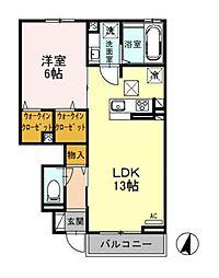 仮)D-Room湘南台2丁目[102号室]の間取り