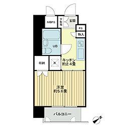 ライオンズマンション盛岡中央通[8階]の間取り